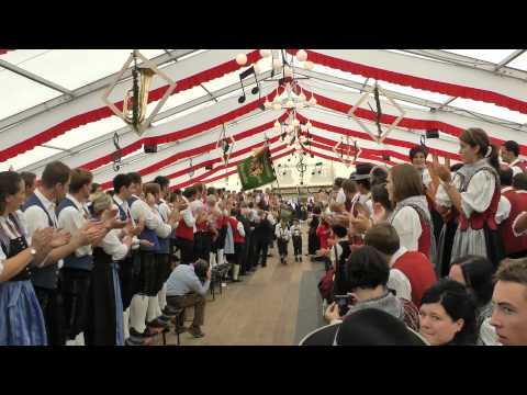 Musikfest Hofs / Fahneneinmarsch