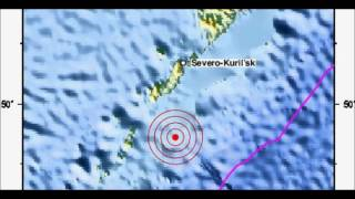 M 6.1 EARTHQUAKE - KURIL ISLANDS 07/20/12