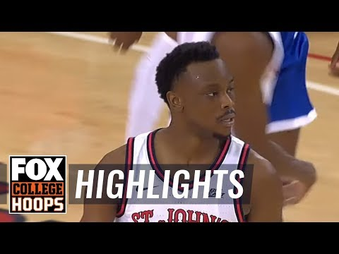 St. John's Cruises Past Central Connecticut, 87-57 | FOX COLLEGE HOOPS HIGHLIGHTS