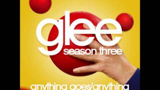 Glee - Anything Goes/Anything You Can Do (HQ FULL STUDIO) w/ Cover