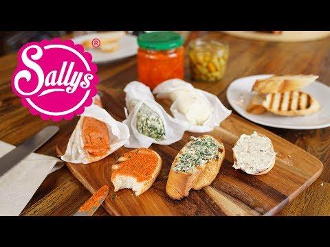 Butter selber machen / 3 Rezeptideen / Grillbutter / Tomatenbutter / Kräuterbutter / Sallys Welt
