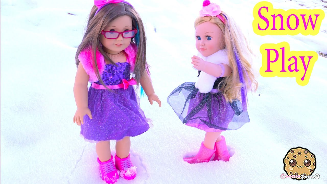 Snow Play Boots Dresses Clothing Review for American Girl My