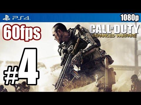 Call of Duty Advanced Warfare (PS4) Walkthrough PART 4 60fps [1080p] Lets Play TRUE-HD QUALITY