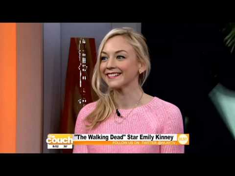 'Walking Dead' Star Emily Kinney On The Couch