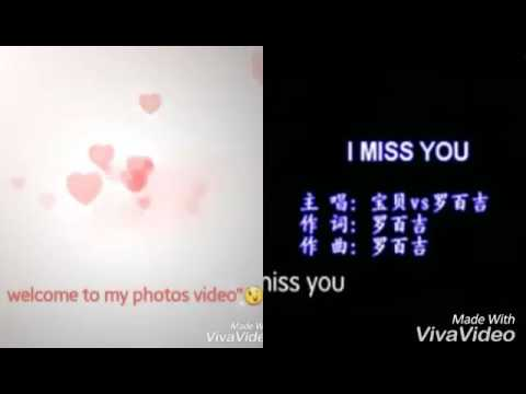 I miss you everyday! (Chinese song)