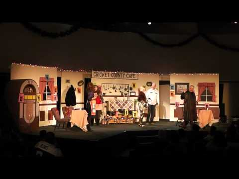Christmas at the Cricket County Cafe Production