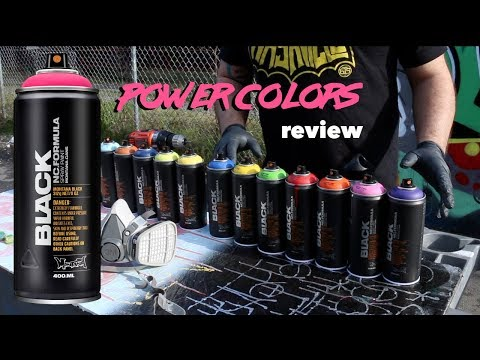 Montana Black Power Colors Review