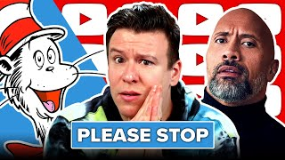 "PLEASE STOP! DON'T DO THIS... The Rock, Dr. Seuss ""Cancelled"" Explained, DeFranco LA Mayor, & More"