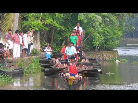 Karichal Chundan Jesus Boat Club Trial Prayer - Presidents Trophy Boat Race 2014