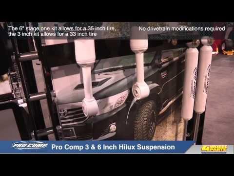 Pro Comp 3 & 6 Inch Hilux Suspension System
