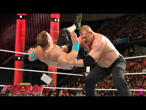 John Cena vs. Kane – United States Championship Match: Raw, April 20, 2015
