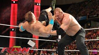 John Cena vs. Kane – United States Championship Match: Raw, April 20, 2015