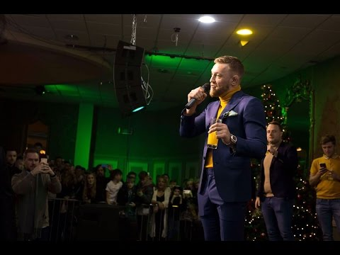Conor McGregor - FULL Q&A from Belfast