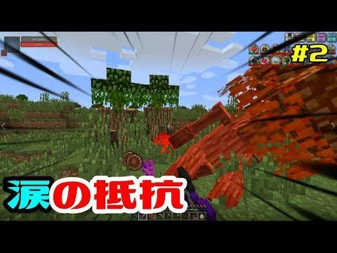 #2【マイクラ】アメジストの剣で抵抗!巨大な耳かきもGET【AoA】