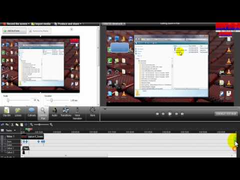 how to use camtasia 7 zooming inout cursor effects editing publishing etc
