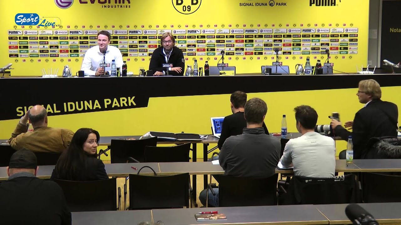 BVB Pressekonferenz vom 12. September 2013 vor dem Spiel Borussia Dortmund gegen den Hamburger SV