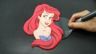 Ariel Pancake | The Little Mermaid | Princess Food