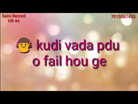 PRESIDENT || RHYTHM | whatsapp status || singga ||Song 2018 | saini record hr 44