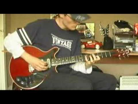 Andy Clayton - Canon Rock On A Brian May Guitar!