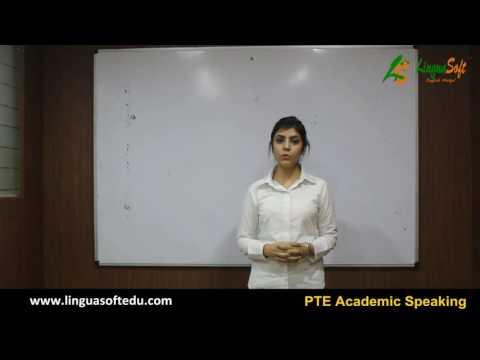 PTE Academic Speaking