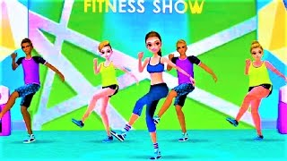 Fitness Girl:  Dance and Play at the Gym
