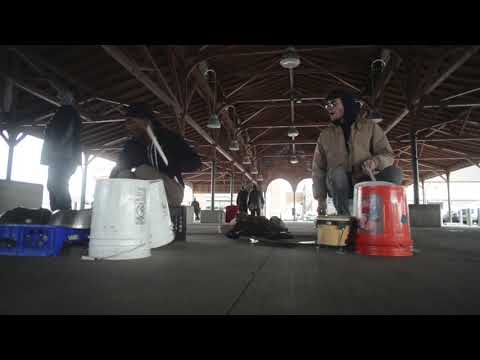 Detroit Street Drummers — Group:  Hot Bax — Saturday, March 10th, 2018 — Eastern Market, Detroit
