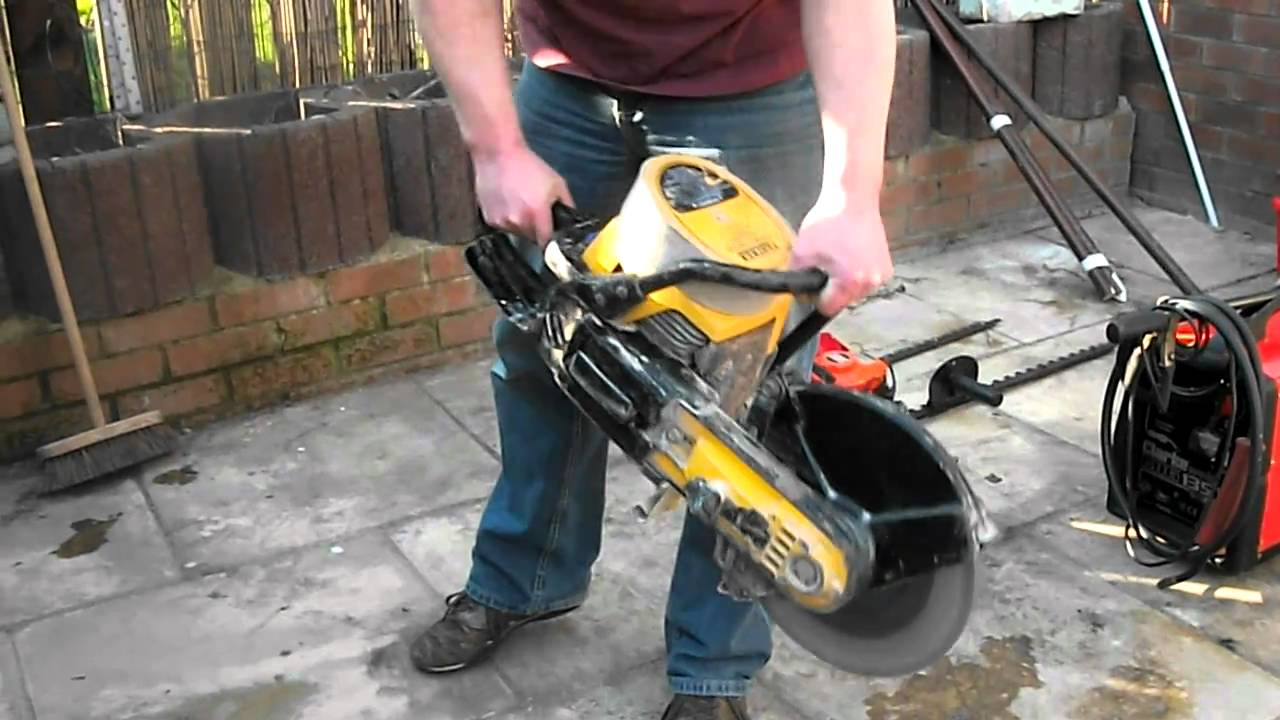 Partner K650 Petrol Saw Start Up And Test Cut Youtube