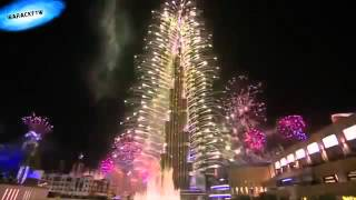 Dubai burj khalifa fire work 2016