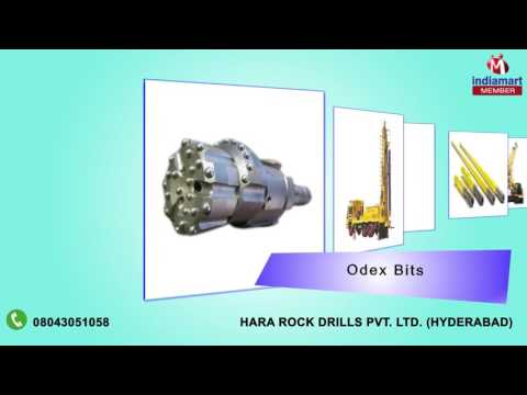 Drilling Bits And Rigs by Hara Rock Drills Pvt. Ltd., Hyderabad