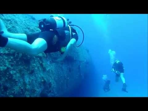 Wreck diving in Rhodos, Greece 2014
