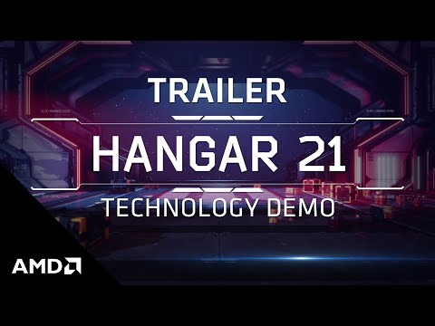 "AMD RDNA™ 2 ""Hangar 21"" Technology Demo Trailer"
