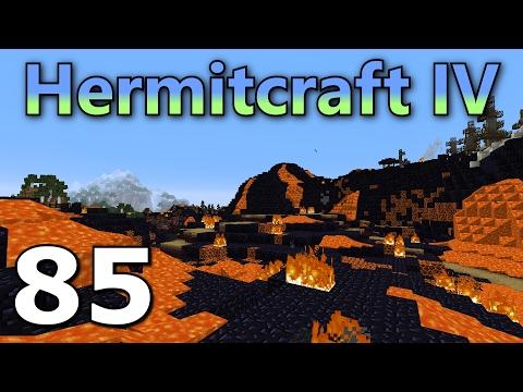 Hermitcraft 4 Ep. 85- The Volcano Biome!