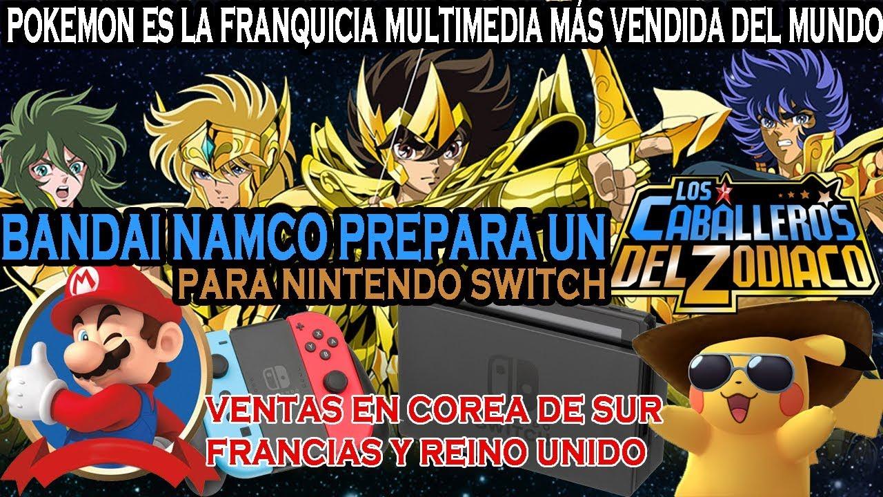 Bandai Namco Prepara Juego De Saint Seiya Para Nintendo Switch