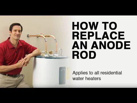 How to Replace a Water Heater Anode Rod