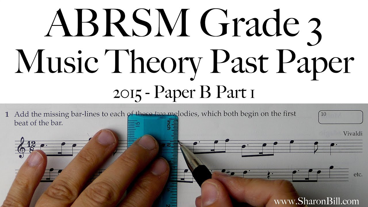 Music Theory & Ear Training Good Abrsm Music Theory Past Papers 2016 Model Answers Grade 3 Book Theory