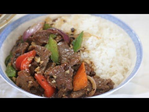 BETTER THAN TAKEOUT – Beef Stir Fry W/ Black Bean Sauce (豉汁牛肉)