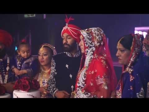 Sikh Punjabi Wedding Teaser 2016 | Amritpal & Kiran | Cinematic