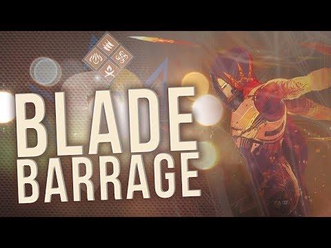 BLADE BARRAGE! New Hunter Super & Subclass Guide   Destiny 2
