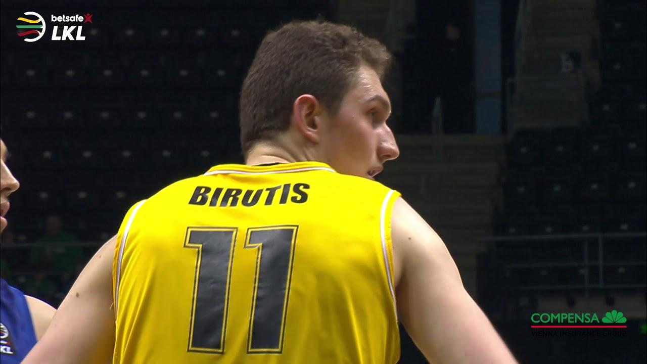 "L. Birutis – ""Betsafe–LKL"" kovo mėnesio MVP"