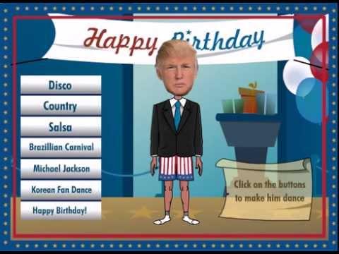 Donald Trump Dancing ECard