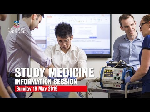 Discover Your Future In Health At Adelaide | Medicine