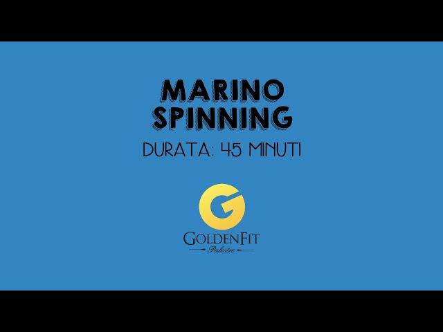 Spinning Con Marino, Lezione 2