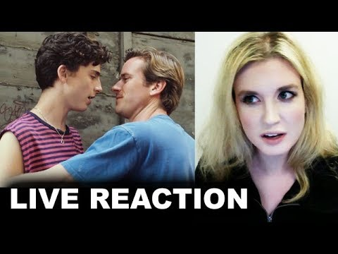 Call Me By Your Name Trailer REACTION