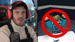 PewDiePie Got Banned On Roblox?