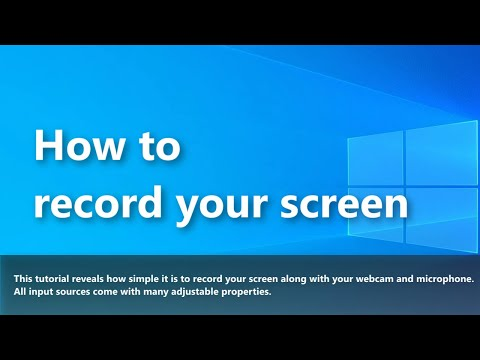 ScreenToVideo: How to record your screen