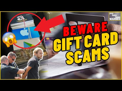 Gift Card Scams EXPOSED - You Have Been Warned