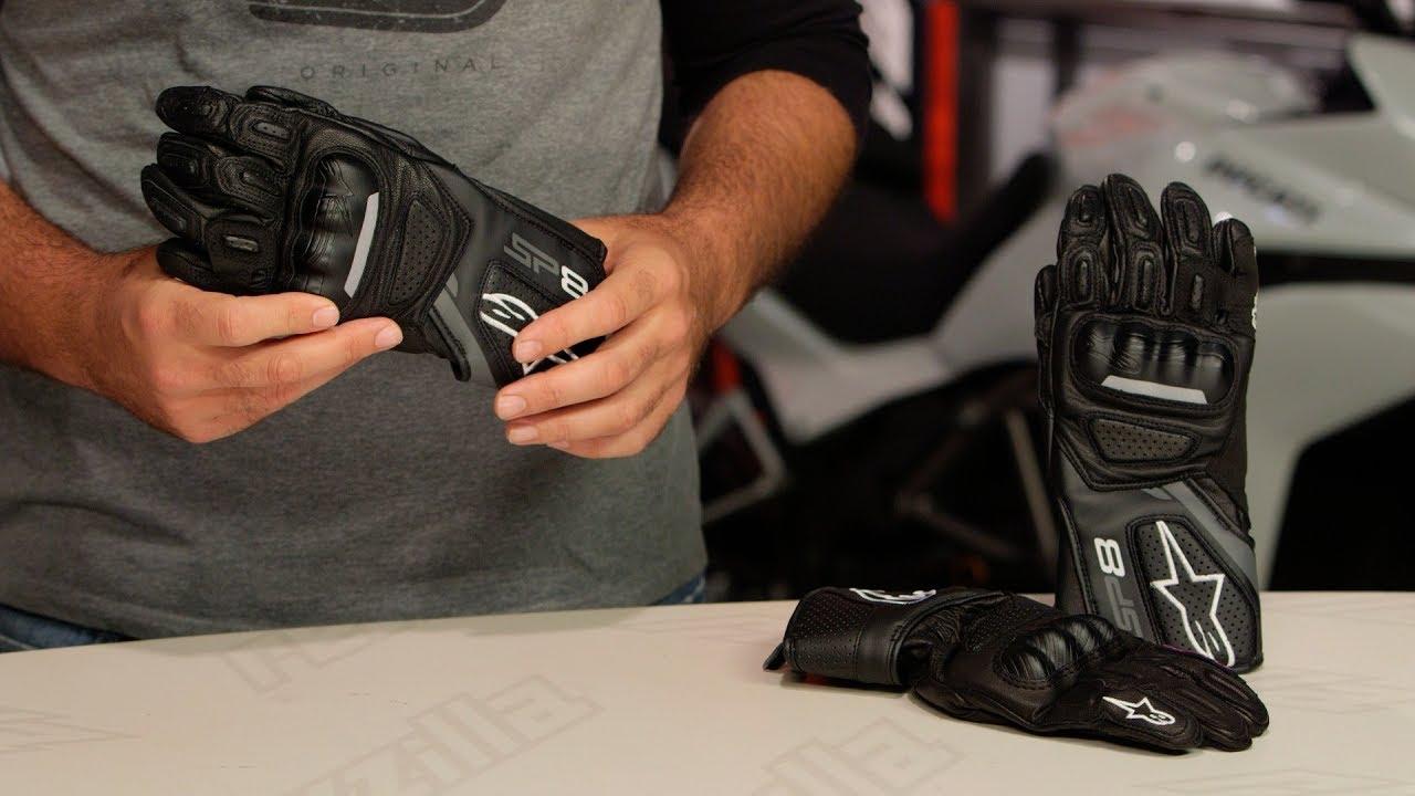 Alpinestars Stella SP-1 V2 Gloves Black Alpinestars Gants Moto