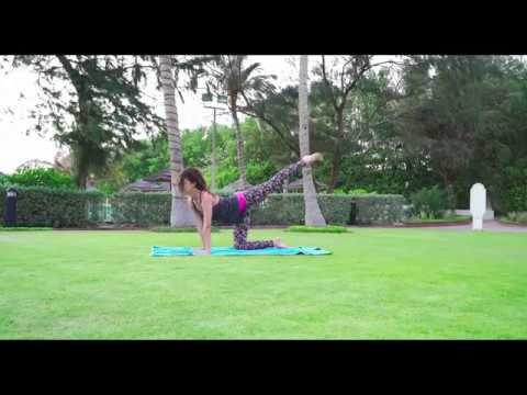 Yoga and Stretching. Front Split Series. Part 3