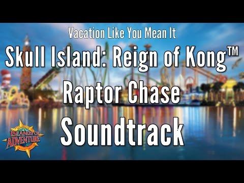 Universal IOA - Skull Island: Reign of Kong™ Raptor Chase Soundtrack