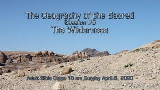 April 5 20 Bible Class Session 5